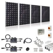 PLUG-IN SOLAR NEW BUILD/DEVELOPER 1kW 4 PANEL KIT